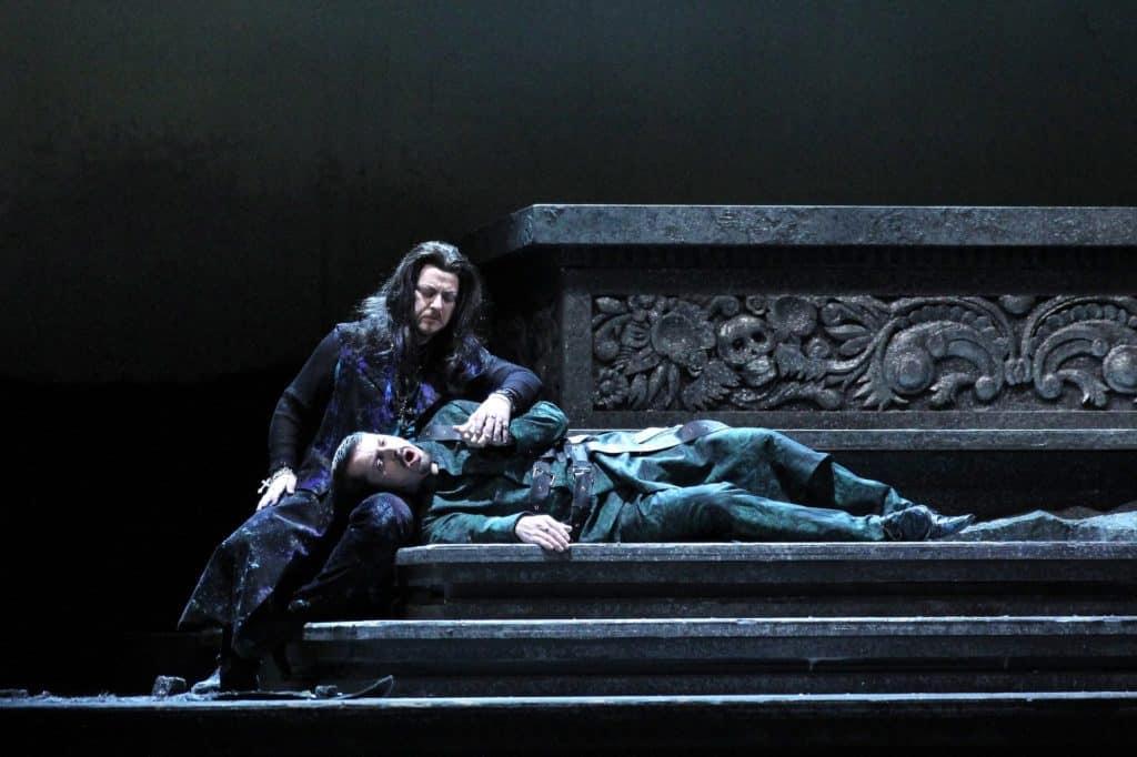 Jiří Brückler s tenorem Michalem Lehotským - Don Carlo